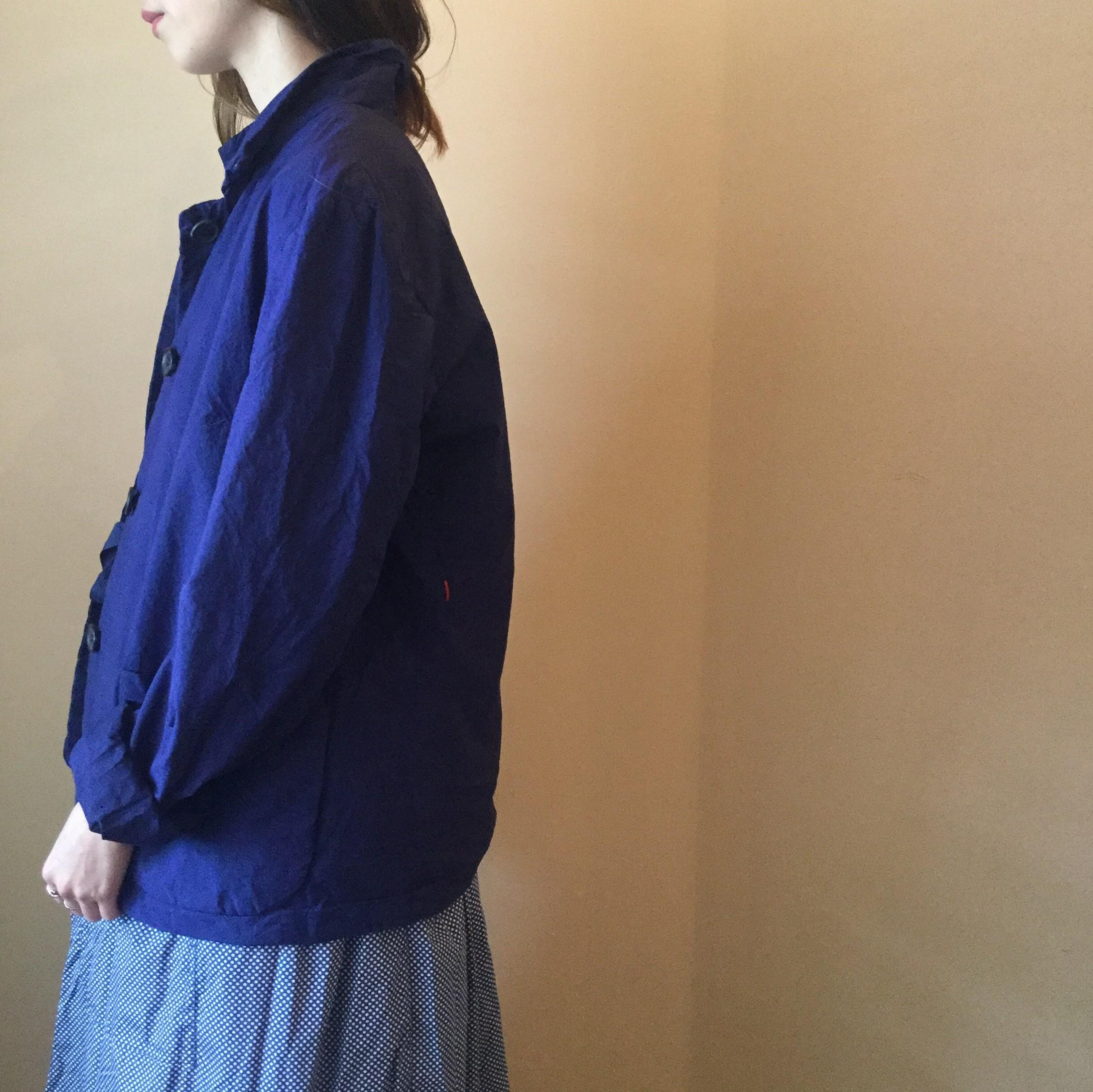春夏caseycasey(ケーシーケーシー)の定番生地paper(ペーパー)を使用したエアエイジおすすめのダブルフェイスの4Bジャケットです